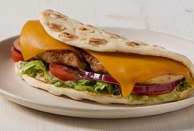 California Chicken Pita