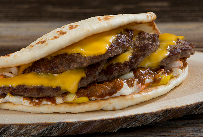 Old-Fashioned Chili Pita Burger™