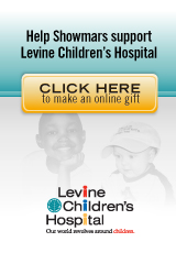 Help Showmars Support Levine Children's Hospital | Make a Donation Today!